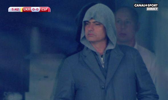 Jedi Warrior Mourinho spotted in the Ukraine