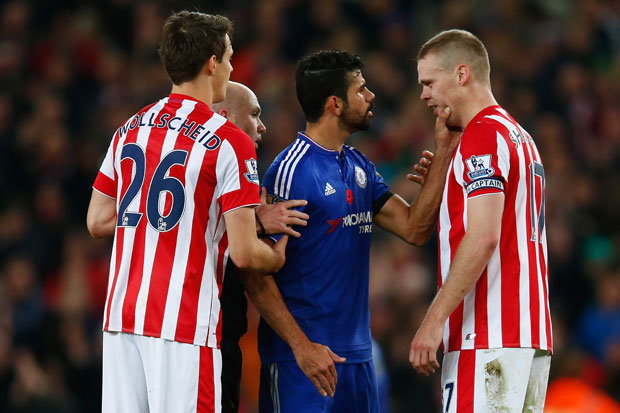 Manchester United Star DEFENDS Chelsea bad boy Diego Costa