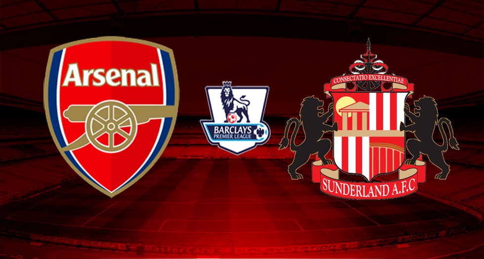 LINE-UP: Arsenal team to play Sunderland