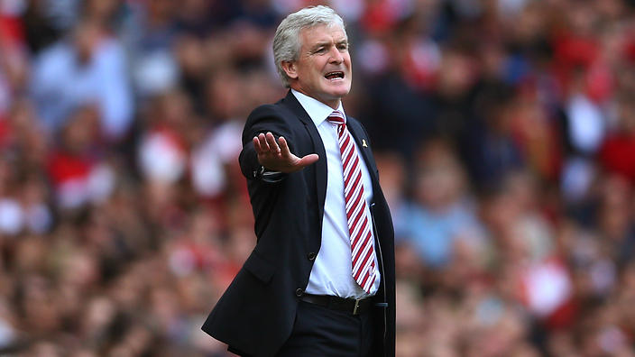 Stoke City Boss has a Right Go at Arsene Wenger
