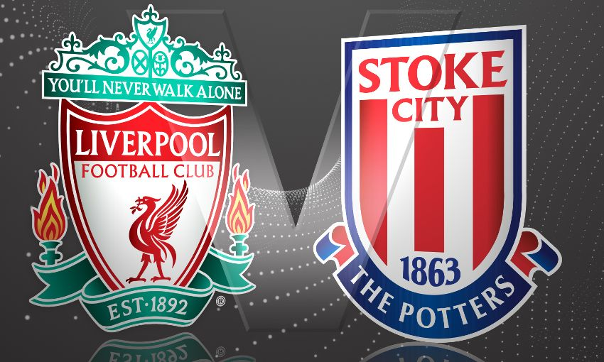 LINE-UP: Liverpool team to play Stoke City