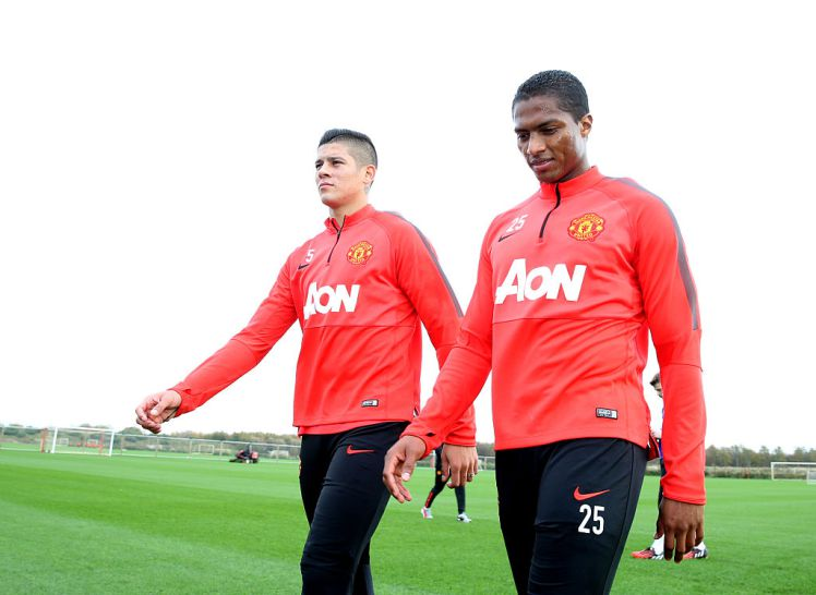 Big boost for Manchester United as injured pair return to training