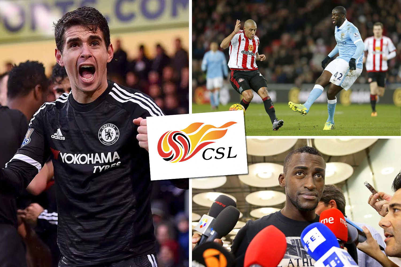 China Super League club have £57m bid rejected for Premier League Star