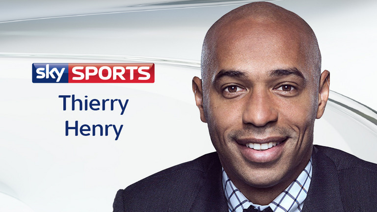 Gunner's boss has a go at Arsenal legend Thierry Henry