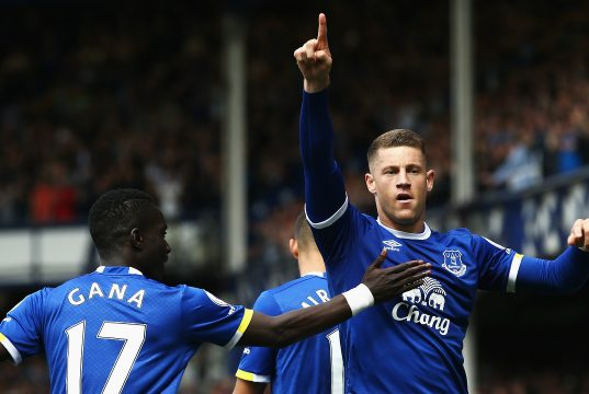 Ross Barkley wants to play in the Champions League