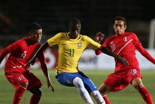 Brazilian Wonderkid, Vinicius Junior in action for Brazil's U17s.